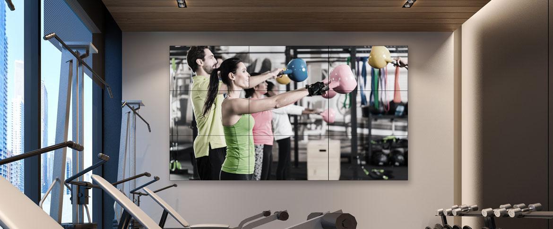 Fitness Videowall